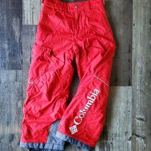 Columbia snow Bugaboo pants